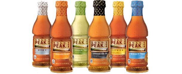 Gold Peak Ice Teas from Coca-Cola Santa Fe