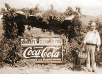 Santa Fe Coca Cola Historic Photo