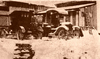 1924 Model T Delivery Truck for Coke in Santa Fe, New Mexico