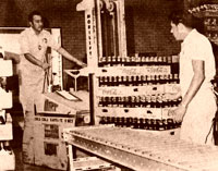 Coca-Cola Conveyor Belt