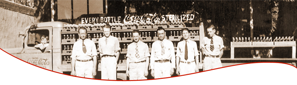 Coca-Cola Bottling Company of Santa Fe Employees 1933
